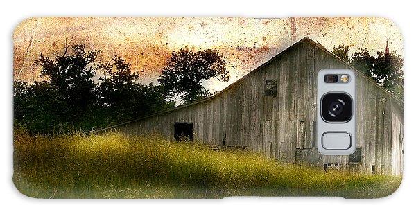 Evening Light Over Taylor Farm Galaxy Case