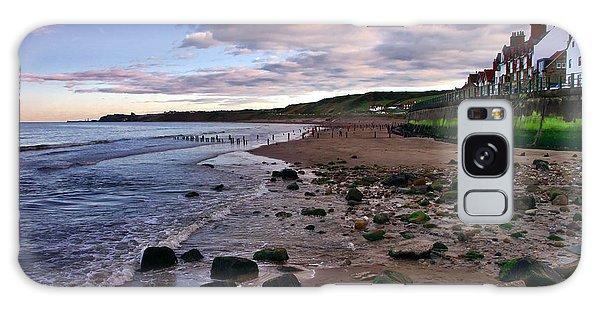 Evening On Sandsend Beach Yorkshire Galaxy Case