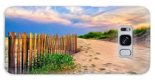 Evening On The Beach Galaxy Case