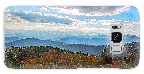 Evening On The Blue Ridge Parkway Galaxy Case