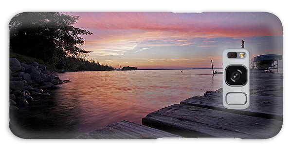 Evening On The Dock Galaxy Case