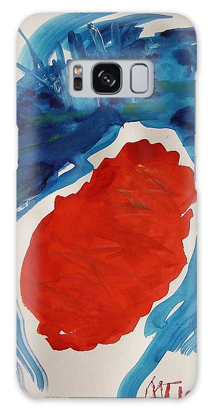 Evening Over Scarlet Lake Galaxy Case