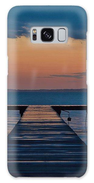 Evening Pier - Sunset Photo Galaxy Case