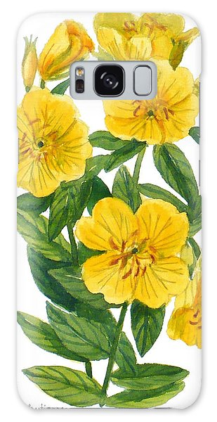 Evening Primrose - Oenothera Fruticosa Galaxy Case