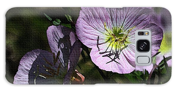 Evening Primrose Galaxy Case by Tom Janca