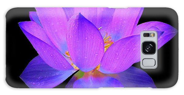 Evening Purple Lotus  Galaxy Case