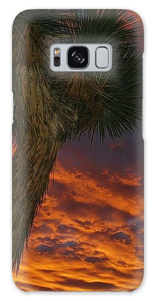 Evening Red Event Galaxy Case by Angela J Wright