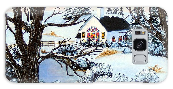 Evening Services Galaxy Case by Barbara Griffin