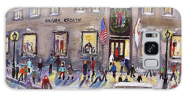 Evening Shopping At Grover Cronin Galaxy Case