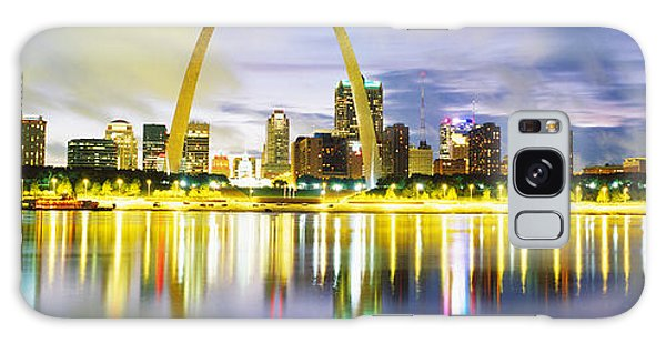 St Louis Mo Galaxy Case - Evening, St Louis, Missouri, Usa by Panoramic Images