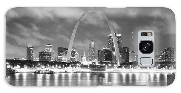 St Louis Mo Galaxy Case - Evening St Louis Mo by Panoramic Images
