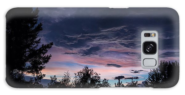 Evening Storm Galaxy Case