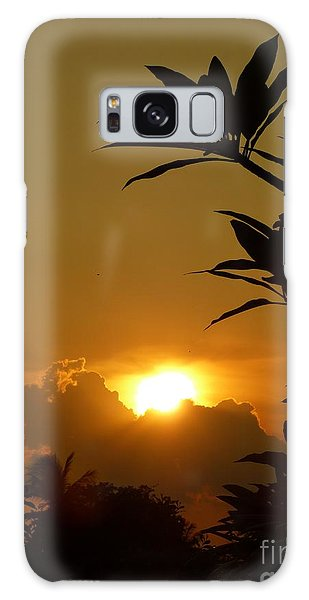 Evening Sun Galaxy Case