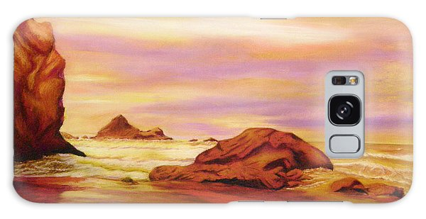 Evening Twilight   Pastel Galaxy Case by Antonia Citrino