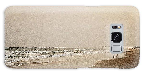 Evening Walk On Wrightsville Beach Galaxy Case