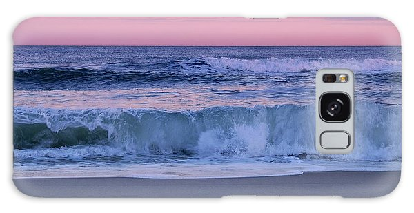 Evening Waves - Jersey Shore Galaxy Case
