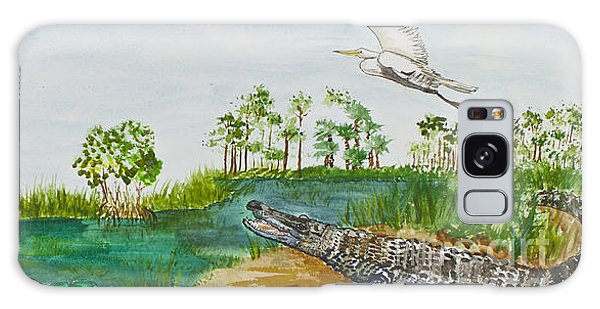 Everglades Critters Galaxy Case