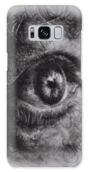 Every Eye Tells Its Own Story Galaxy Case
