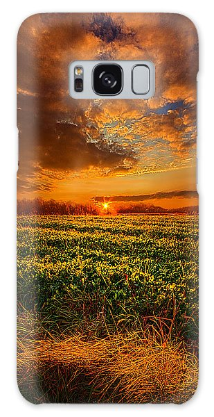 Picnic Table Galaxy Case - Every Step Of The Way by Phil Koch