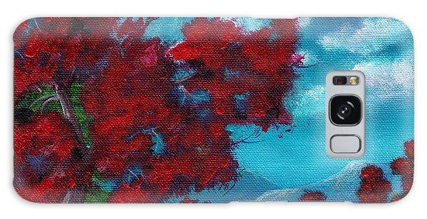 Strange Clouds Galaxy Case - Everything Autumn by Anastasiya Malakhova
