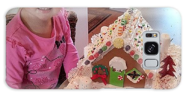 Holiday Galaxy Case - Evey And Mommy Finished The Gingerbread by Chris Morgan