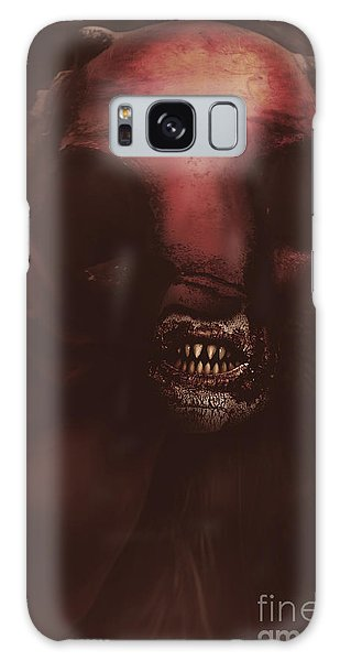 Minotaur Galaxy Case - Evil Greek Mythology Minotaur by Jorgo Photography - Wall Art Gallery