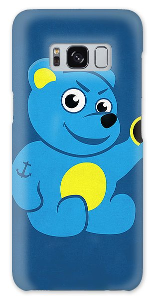 Evil Tattooed Teddy Bear Galaxy Case