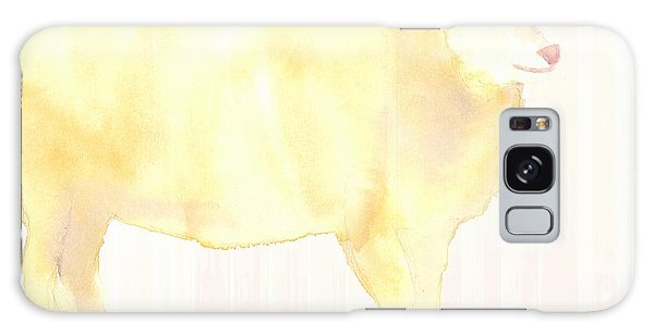 Ewe's Not Fat Ewe's Fluffy Galaxy Case by Ann Michelle Swadener