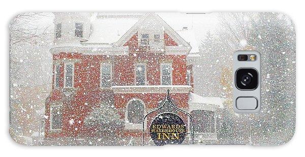 Edwards Waterhouse Inn In Winter Galaxy Case