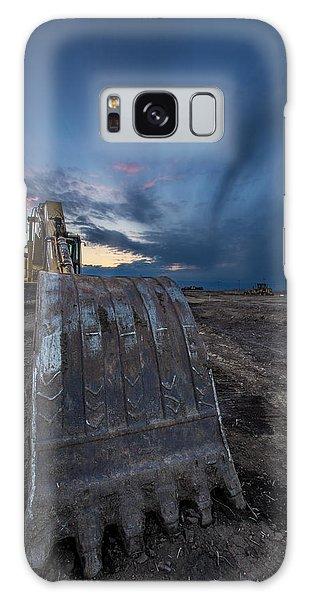 Excavator Galaxy Case - Excavator 2 by Aaron J Groen