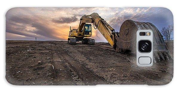 Excavator Galaxy Case - Excavator by Aaron J Groen