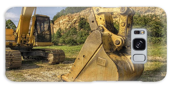 Excavator At Big Rock Quarry - Emerald Park - Arkansas Galaxy Case