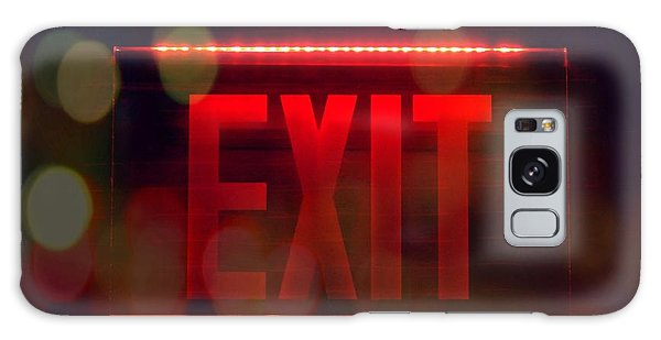 Exit Into The Night Galaxy Case by Darla Wood