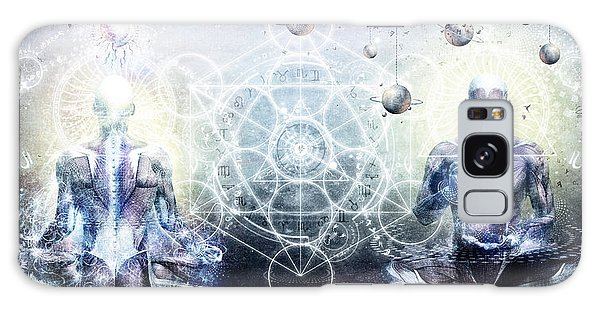Peaceful Galaxy Case - Experience So Lucid Discovery So Clear by Cameron Gray