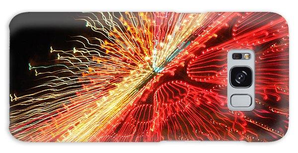 Exploding Neon Galaxy Case
