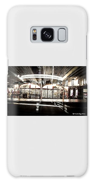 Galaxy Case featuring the photograph Explozoom On A French Carousel by Stwayne Keubrick