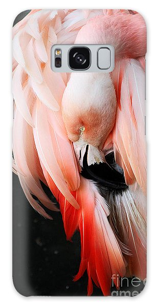 Exquisite Pink Flamingo #1 Galaxy Case