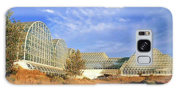 Ecosystem Galaxy Case - External View Of Biosphere 2 by Martin Bond/science Photo Library