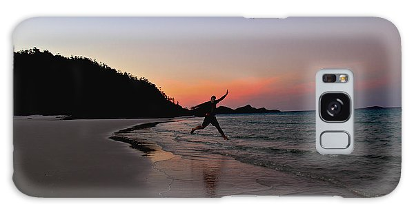 Galaxy Case featuring the photograph Exuberance by Debbie Cundy