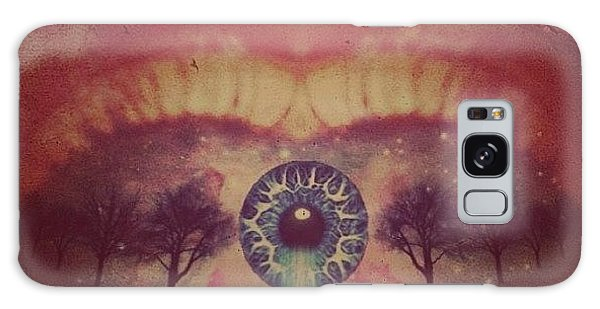 Edit Galaxy Case - eye #dropicomobile #filtermania by Tatyanna Spears