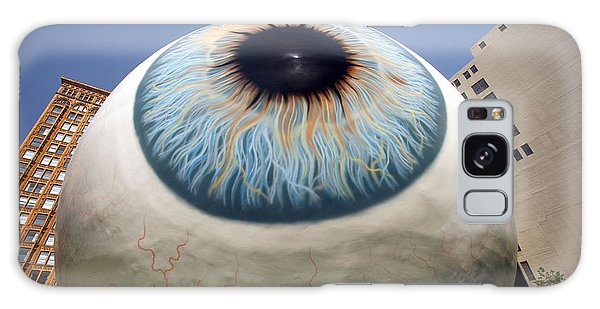 Eye Gigantus Galaxy Case by Martin Konopacki