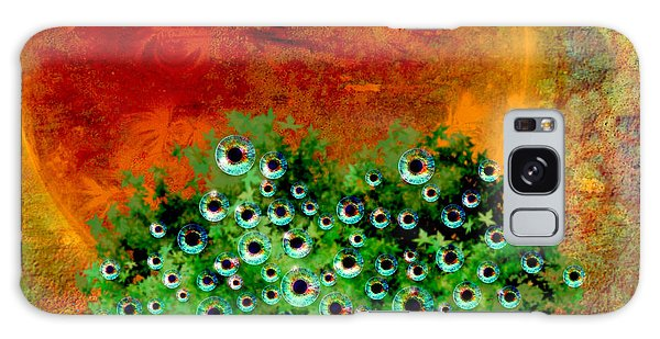 Eye Like Apples Galaxy Case by Ally  White