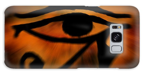 Eye Of Horus Eye Of Ra Galaxy Case