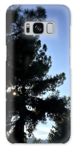 Eye Of Pine On Valleyheart Drive Galaxy Case