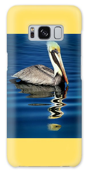 Pelican Galaxy Case - Eye Of Reflection by Karen Wiles