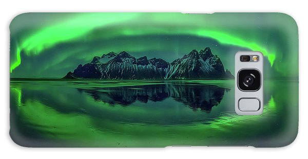 Iceland Galaxy S8 Case - Eye Of Stokksnes by Wojciech Kruczynski