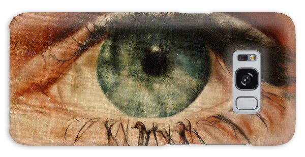 Eye Of The Beholder Galaxy Case by Cherise Foster
