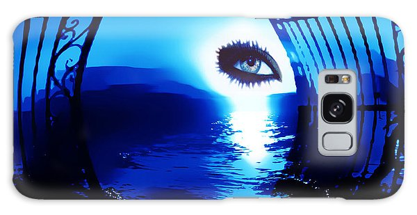 Eye Of The Beholder Galaxy Case by Eddie Eastwood