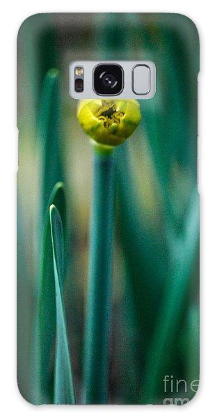 Eye Of The Daffodil Galaxy Case by Cynthia Lagoudakis