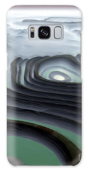 Eye Of The Minotaur Galaxy Case by Pet Serrano